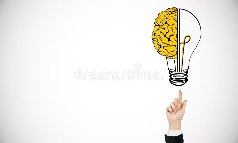 Fundo da inovação e do clique ilustração stock