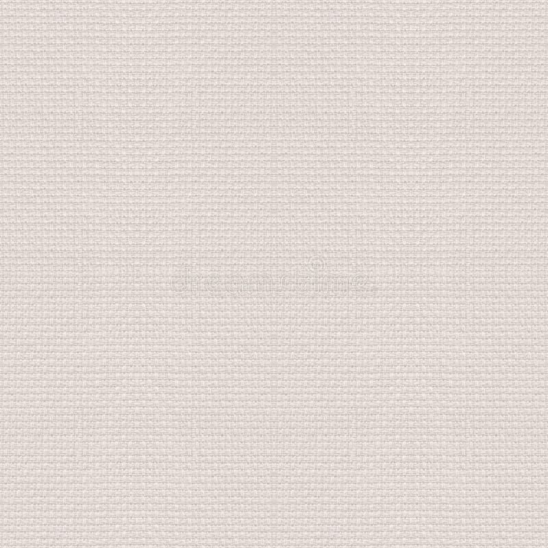 Fundo da lona ou textura abstrata sem emenda de linho do teste padrão de grade ilustração stock