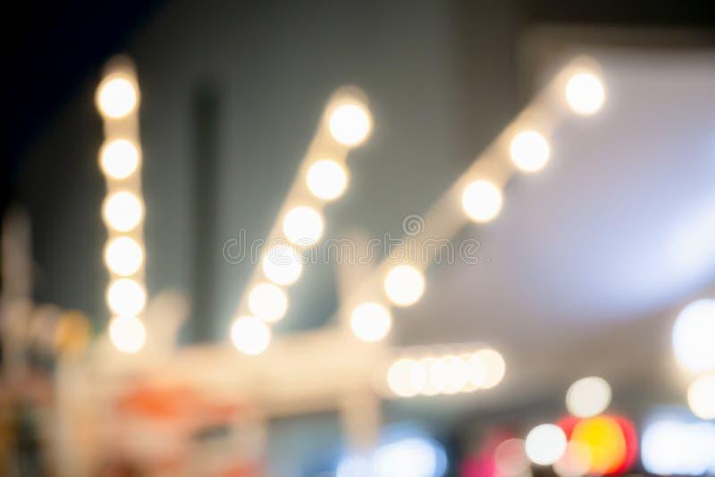 Fundo fundo da luz do bokeh, dos feriados borrados do Natal e do ano novo imagens de stock royalty free