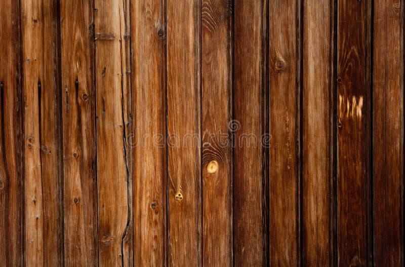 Fundo da madeira do marrom escuro de Grunge foto de stock royalty free