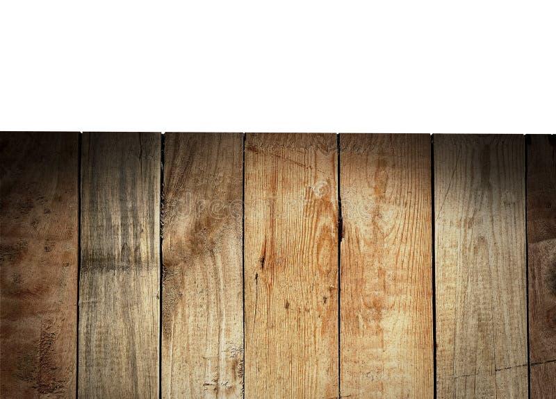 Fundo da madeira do vintage foto de stock