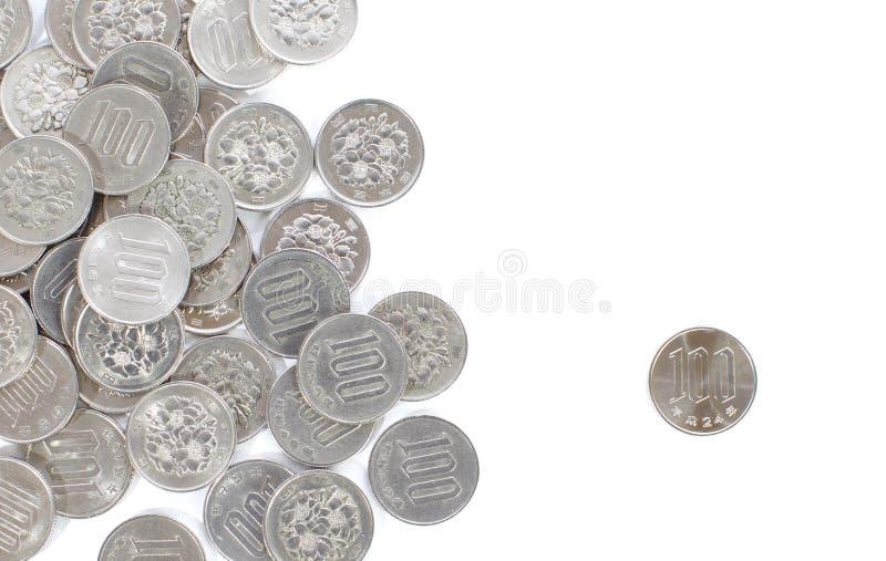 Download Moeda De 100 Ienes Japoneses Isolada No Fundo Branco Imagem de Stock - Imagem de compra, pagamento: 29846569
