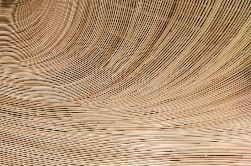 Fundo da natureza do surfa marrom do rattan da textura do weave do artesanato imagens de stock