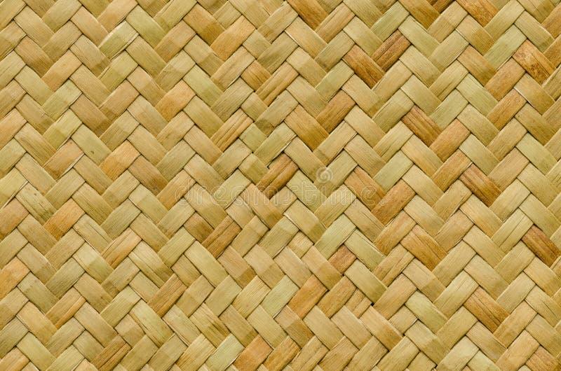 Fundo da natureza do teste padrão do vime da textura do weave do artesanato fotos de stock royalty free