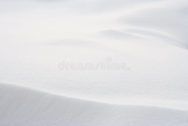 Fundo da neve