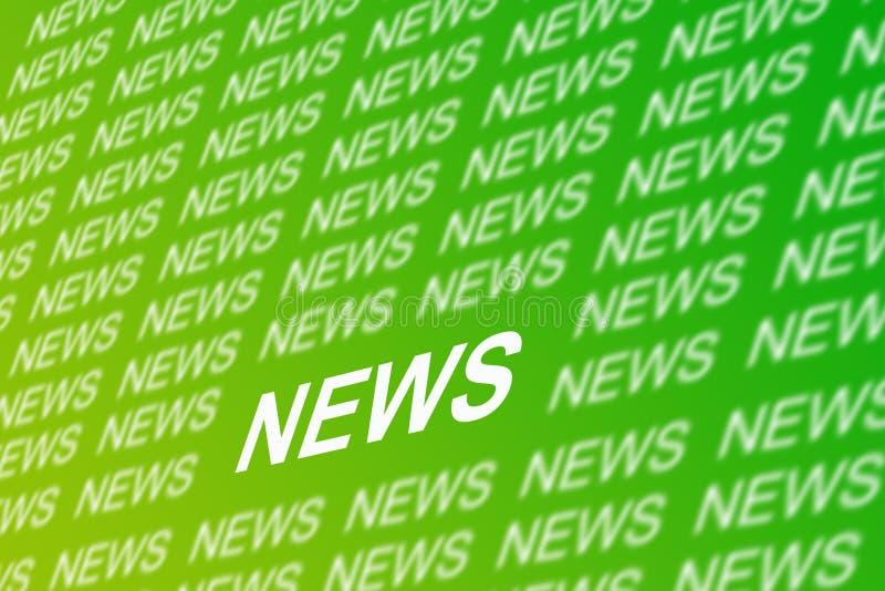 Fundo da notícia ilustração stock