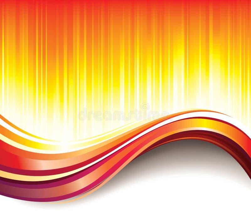 Fundo da onda quente
