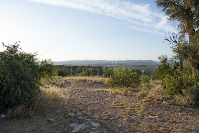 Fundo da paisagem do deserto do Arizona imagem de stock royalty free