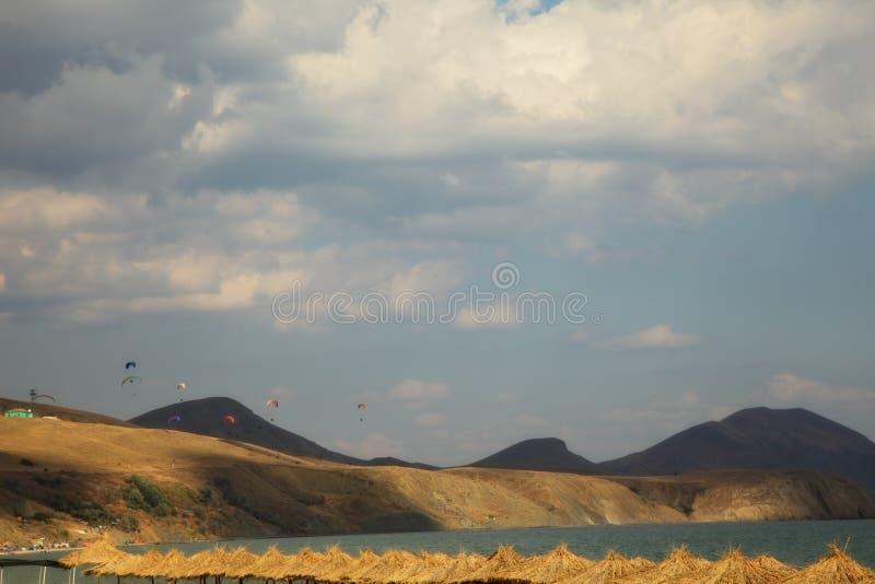 Download Paisagem do mar imagem de stock. Imagem de céu, nuvem - 29849519