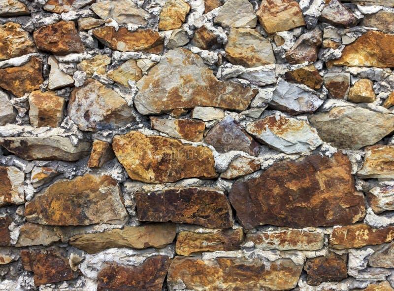 Fundo da parede de pedra velha foto de stock