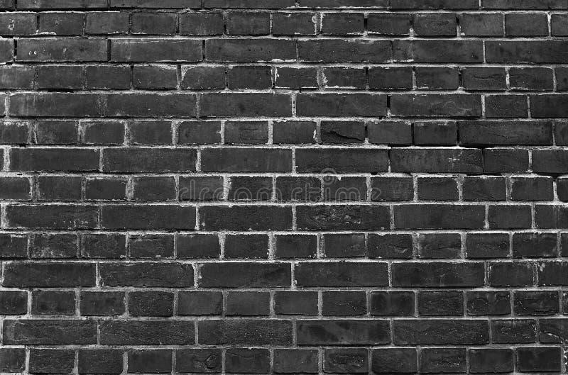 Fundo da parede de tijolo com efeito escuro imagem de stock