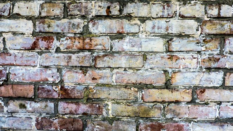 Fundo da parede de tijolo para seu desktop fotos de stock royalty free