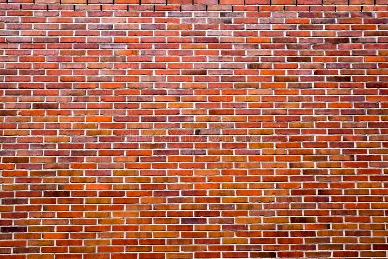 Fundo da parede de tijolo vermelho velha, efeito do vintage imagens de stock