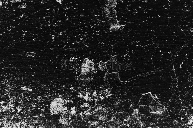 Fundo da parede detalhada alta do preto da pedra do fragmento foto de stock