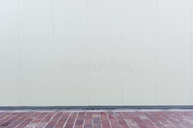 Fundo da parede da rua, parede backgroundceramic industrial da telha do tijolo, parede de tijolo sem emenda ilustração royalty free