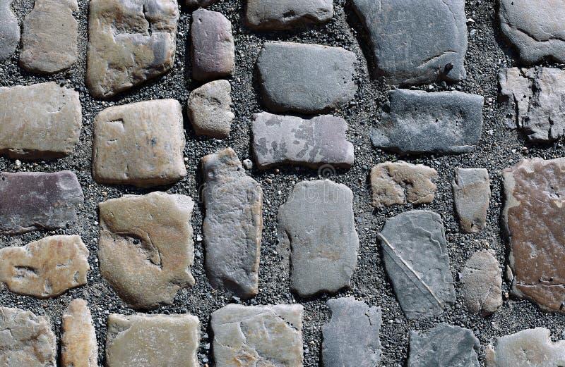 Fundo da pavimentação do granito imagem de stock