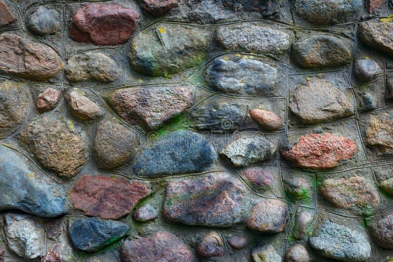 Fundo da peça da parede das pedras foto de stock royalty free