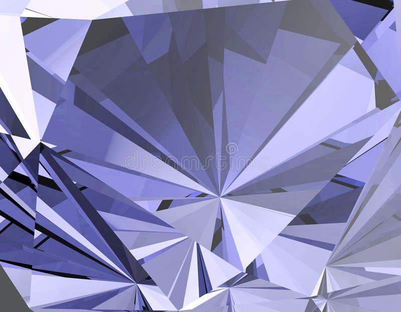Fundo da pedra preciosa da joia ilustração do vetor