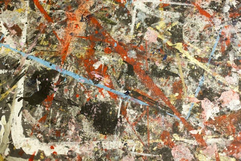 Fundo da pintura de Grunge imagem de stock