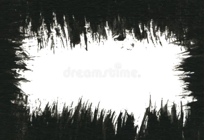 Fundo da pintura de Grunge Ilustração do vetor para sua água fresca de design ilustração royalty free