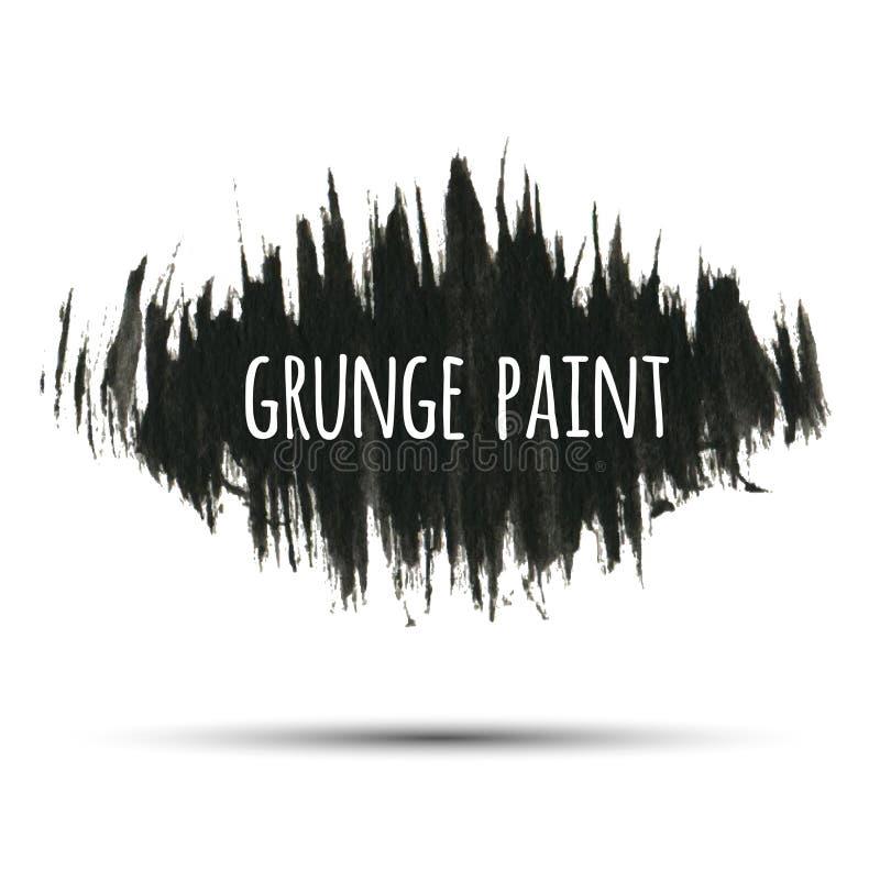 Fundo da pintura do Grunge, ilustração do vetor para seu projeto ilustração do vetor
