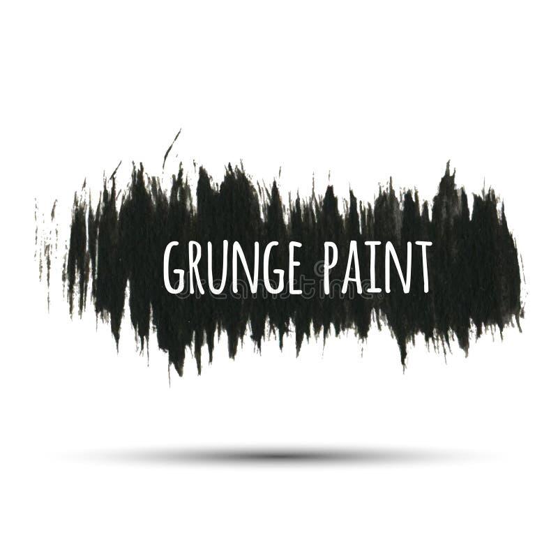 Fundo da pintura do Grunge, ilustração do vetor para seu projeto ilustração stock