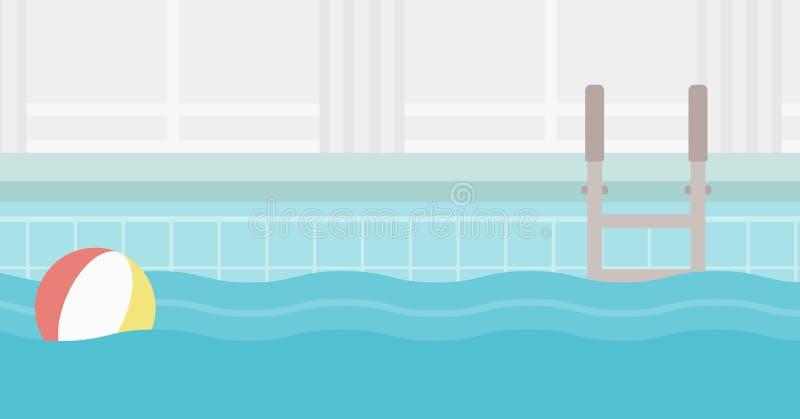 Fundo da piscina ilustração do vetor