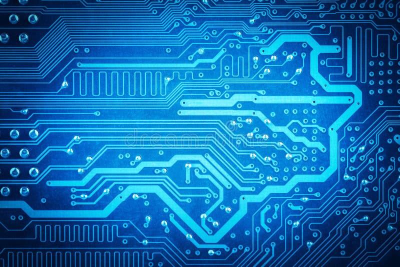 Fundo da placa de circuito imagem de stock royalty free