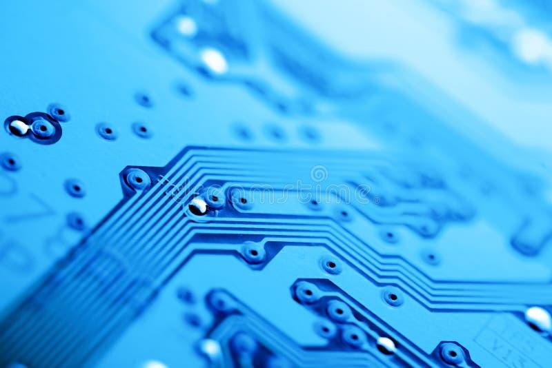 Fundo da placa de circuito imagem de stock