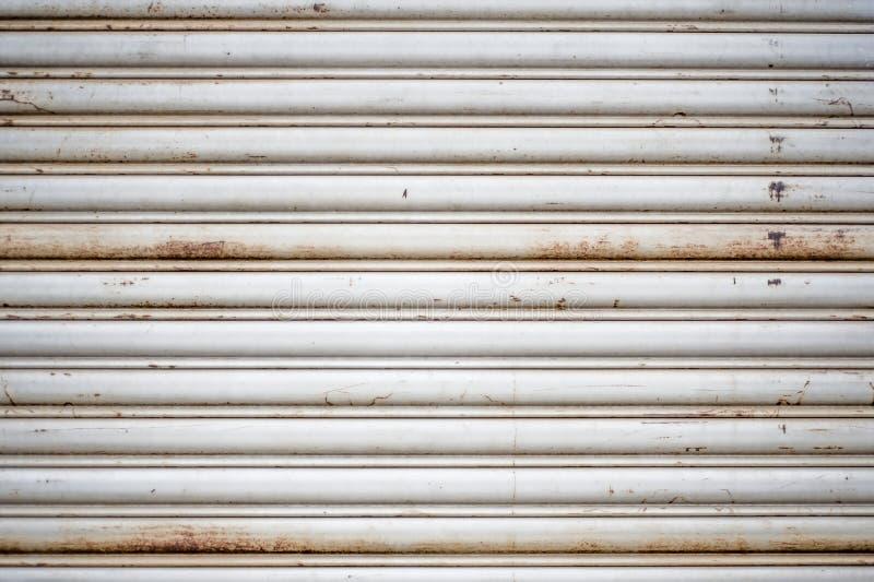 Fundo da porta do metal fotografia de stock