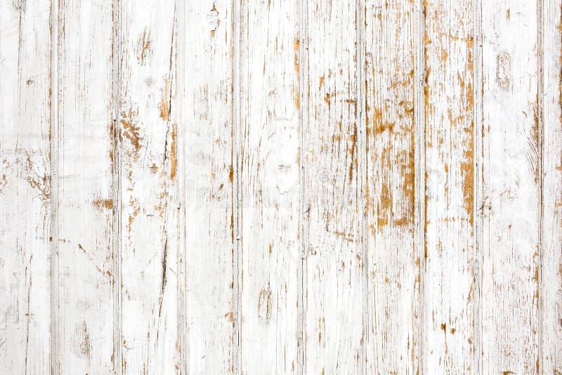 Fundo da prancha de madeira pintada gasto foto de stock