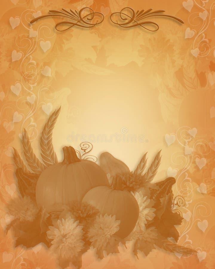 Fundo da queda do outono da acção de graças