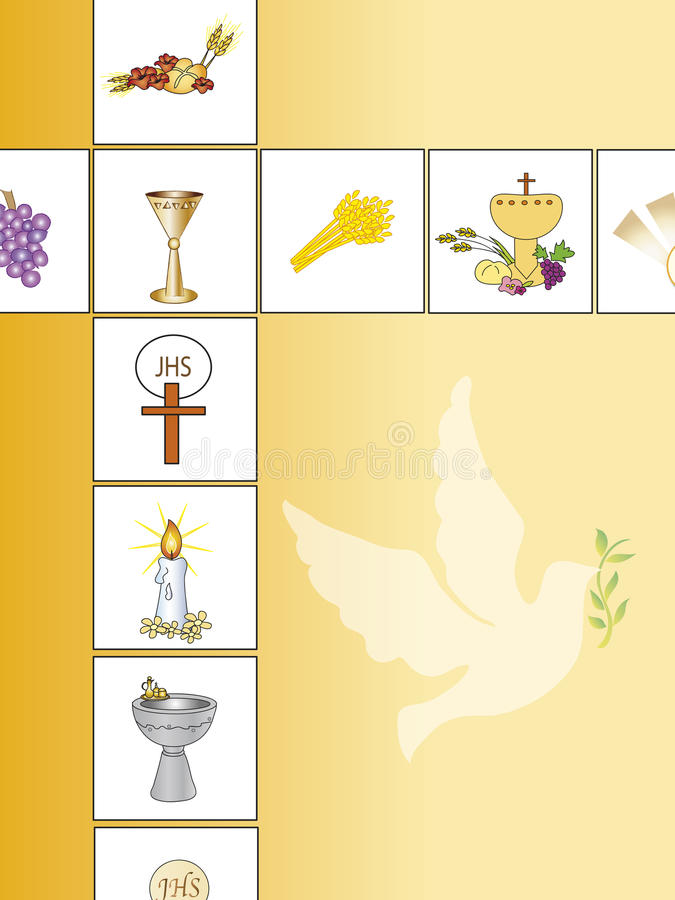 Fundo da religião ilustração do vetor