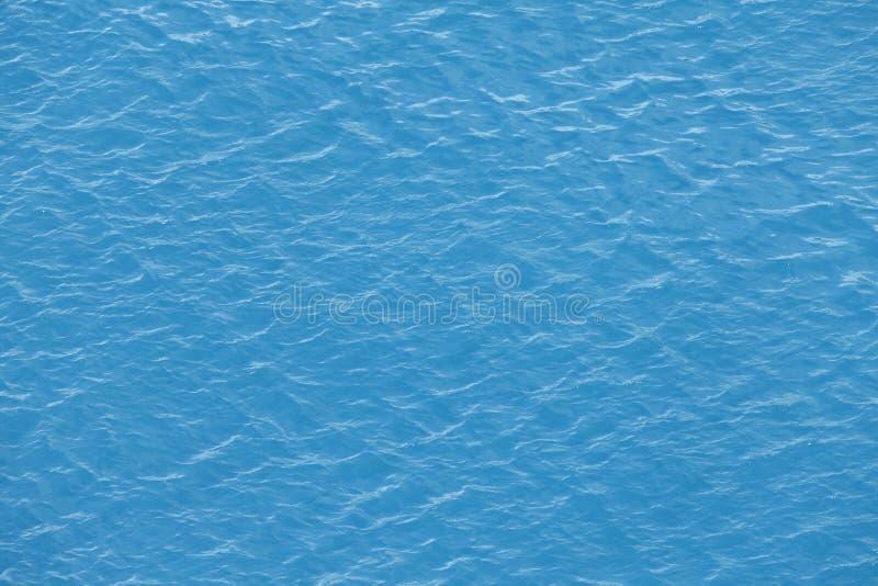 Fundo da superfície da água de mar foto de stock