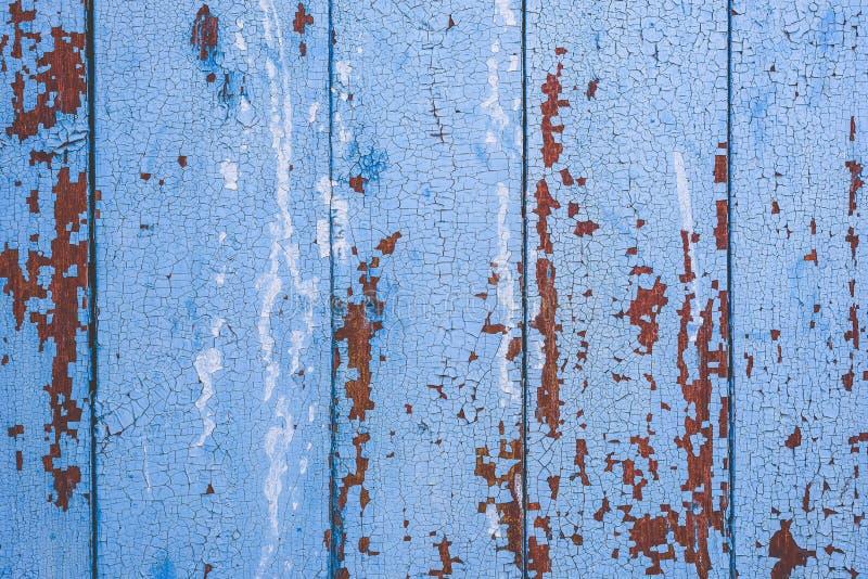 Fundo da superf?cie de madeira azul imagem de stock royalty free