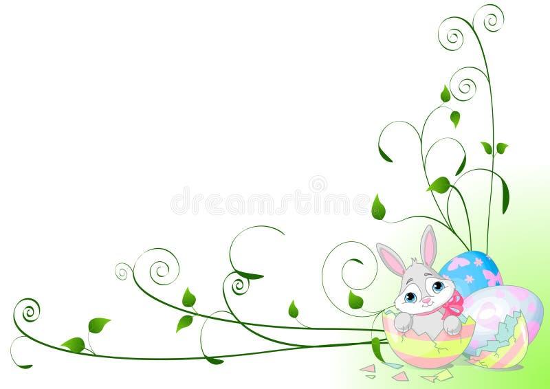 Fundo da surpresa de Easter ilustração do vetor