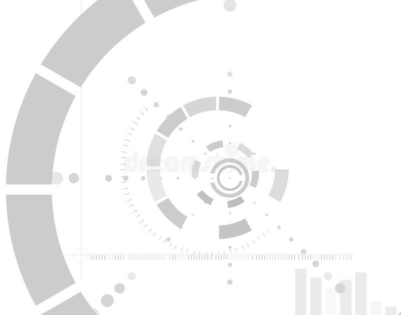 Fundo da tecnologia. ilustração do vetor