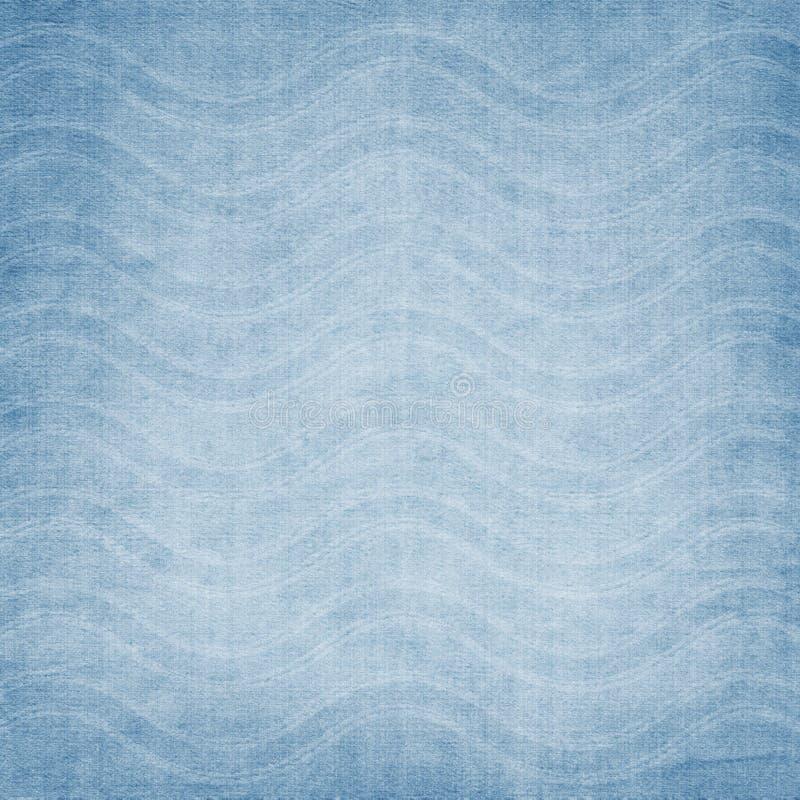 Fundo da tela com ondas ilustração do vetor
