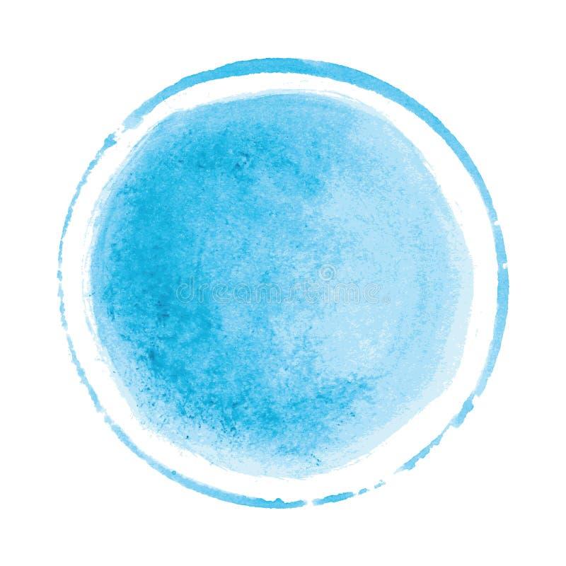 Fundo da textura da aquarela do vetor, pintado à mão ilustração do vetor