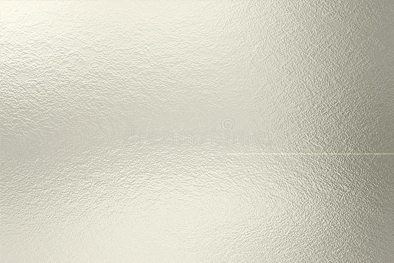 Fundo da textura da folha de prata imagens de stock