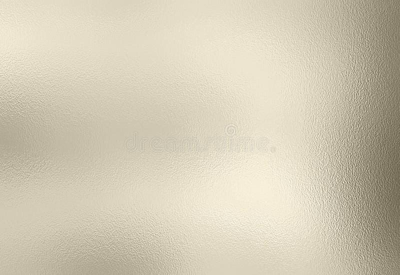 Fundo da textura da folha de prata fotografia de stock