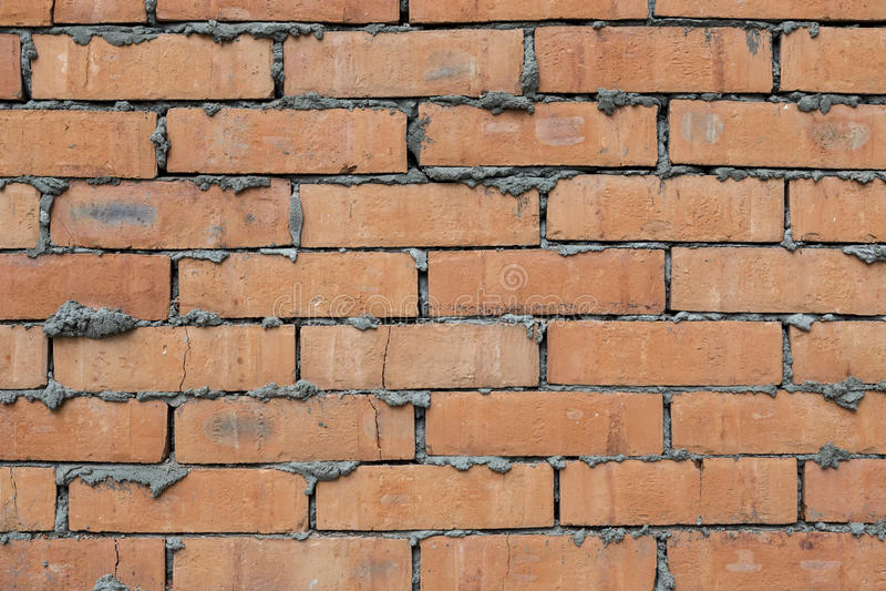 Fundo da textura da parede de tijolo vermelho fotos de stock