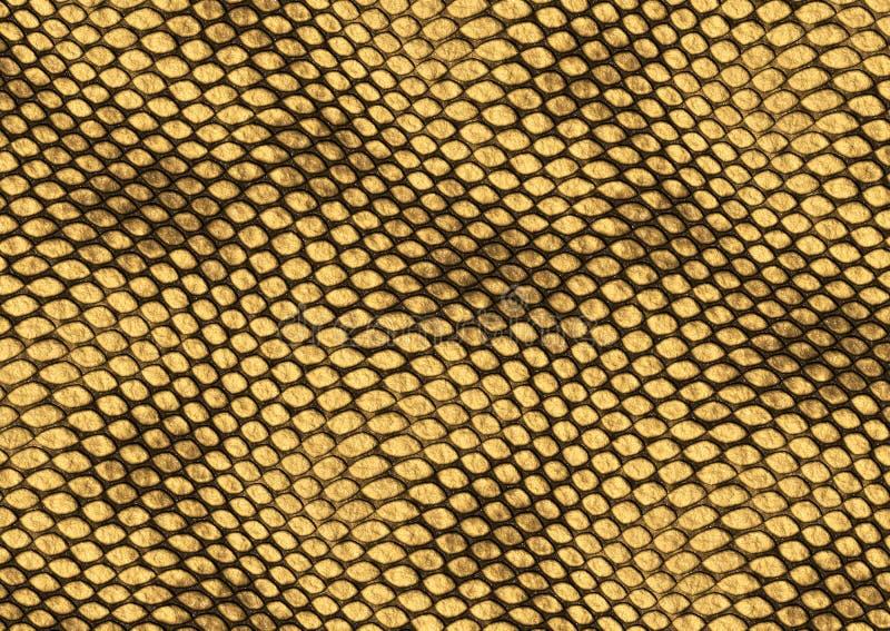 Fundo da textura da pele do réptil ilustração royalty free