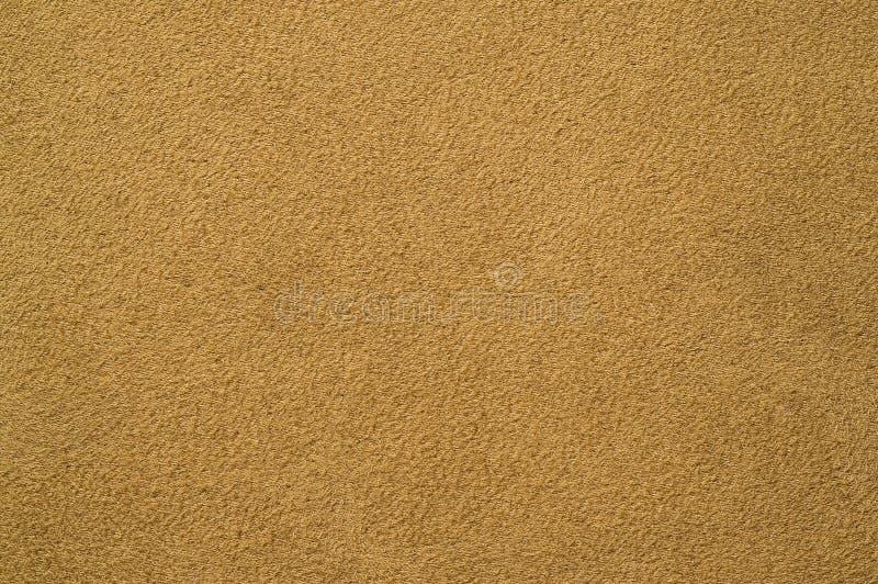 Fundo da textura da tela da camurça fotografia de stock