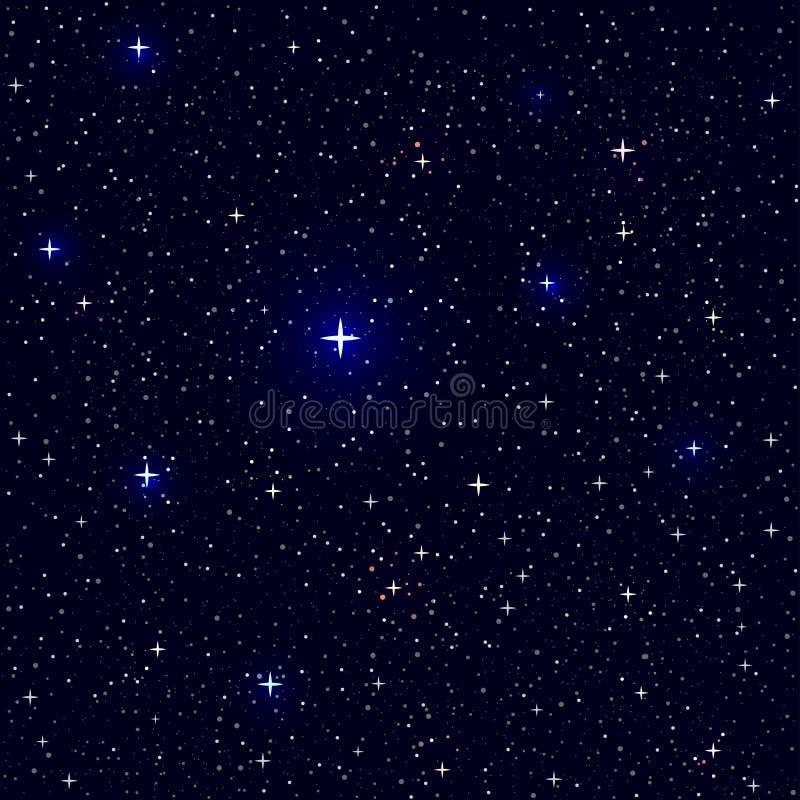 Fundo da textura das estrelas dos efeitos ilustração royalty free