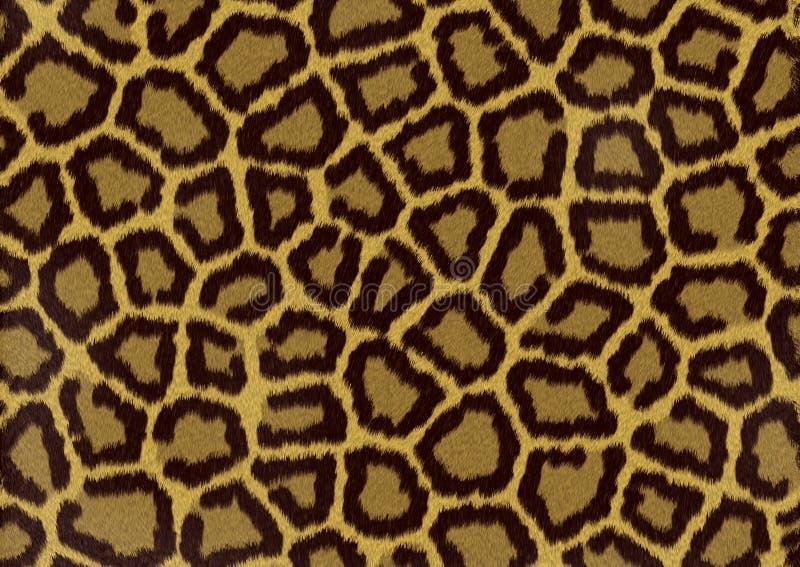 Fundo da textura de Eopard ilustração stock