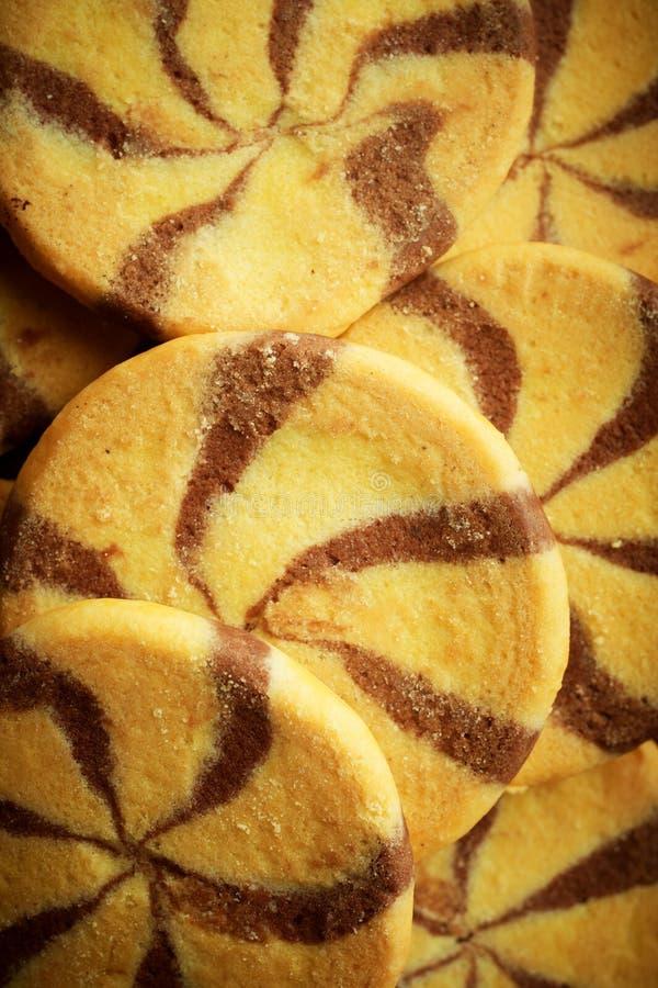 Fundo da textura do biscoito fotos de stock royalty free