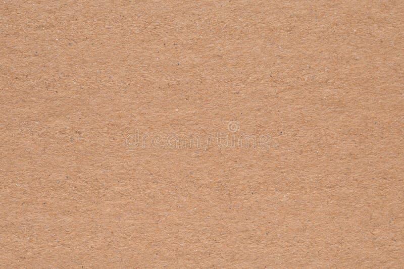 Fundo da textura do cartão, caixa de papel de Brown fotos de stock