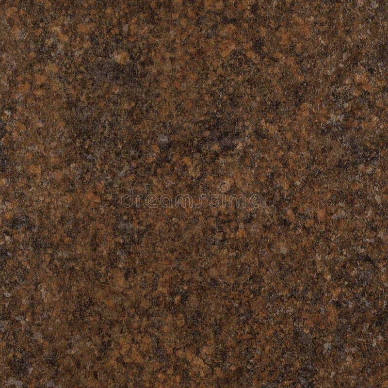 Fundo da textura do granito da pedra de Brown fotografia de stock