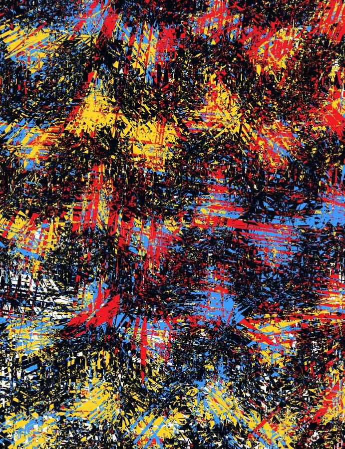 Fundo da textura do lápis do vetor e teste padrão de matéria têxtil ilustração stock